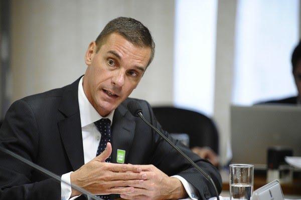 André Brandão, em foto de maio de 2015 — Foto: Edilson Rodrigues/Agência Senado