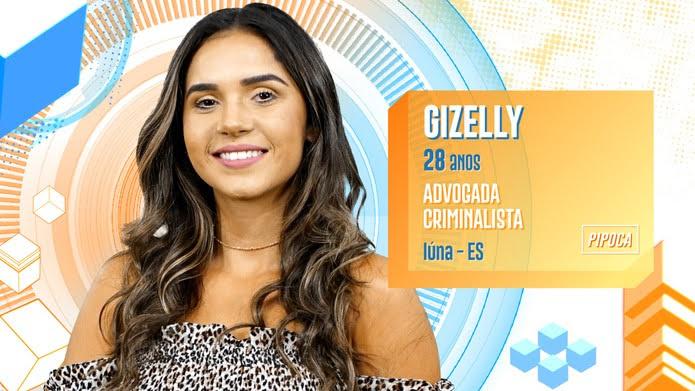 Gizelly é participante do BBB20 — Foto: Globo