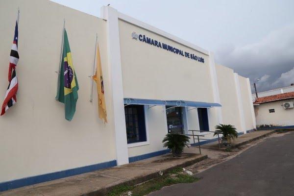 Fachada da Câmara Municipal de Vereadores de São Luís.  — Foto: Divulgação/Câmara Municipal de São Luís