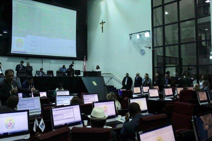 Deputados do Pará discutem votação da reforma da previdência — Foto: Ascom/ Alepa