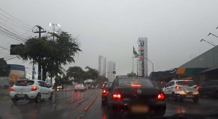 Em Natal, previsão é de tempo parcialmente nublado e chuvas no feriado do Dia do Trabalho — Foto: Fernanda Zauli/G1
