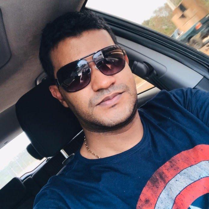Edson Batista Alves, de 35 anos, foi preso em Cuiabá — Foto: Facebook/Reprodução