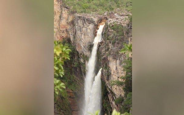 Trilha dos Saltos no Parque Nacional da Chapada dos Veadeiros, em Alto Paraíso de Goiás — Foto: Rayssa Guth/Arquivo Pessoal