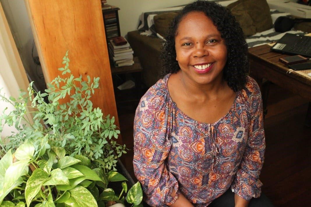 Maria Aparecida Mendes, coautora do livro Mulheres quilombolas: Territórios de existências negras femininas (Foto: Arquivo pessoal)