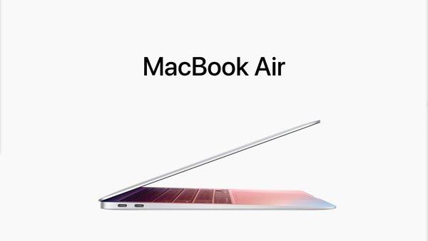 MacBook Air 2020. — Foto: Reprodução/Apple