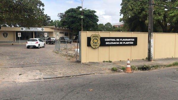 Polícia Civil realiza prisão de homem que estuprou enteada em Natal — Foto: Kleber Teixeira/Inter TV Cabugi