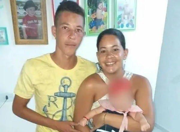 Kaline e Denilson Lopes foram mortos a tiros na zona rural de Betânia — Foto: WhatsApp TV Asa Branca/Reprodução