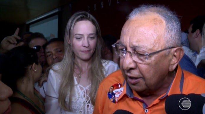 Dr. Pessoa, candidato do Solidariedade ao governo do estado do Piauí  (Foto: Reprodução/TV Clube)