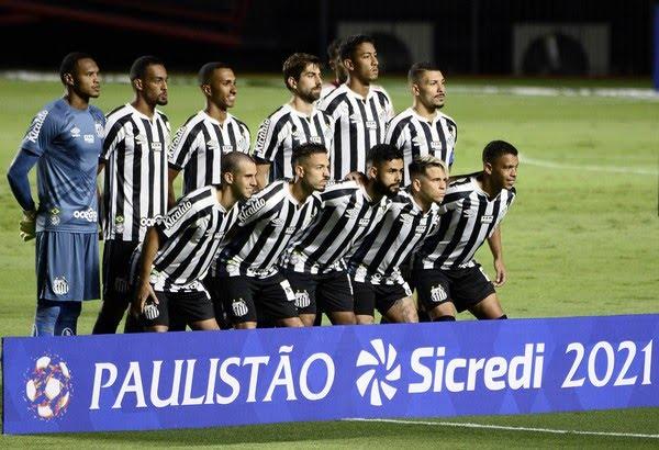 Santos precisa vencer dois jogos e secar o Guarani para se classificar no Paulistão — Foto: Marcos Ribolli