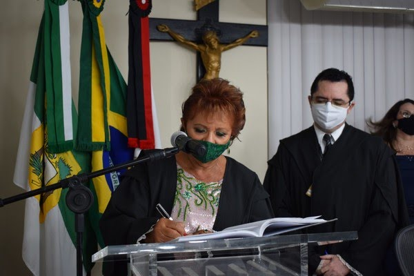 Desembargadora Maria Zeneide Bezerra será a vice-presidente do TJRN — Foto: Tasso Pinheiro/TJRN