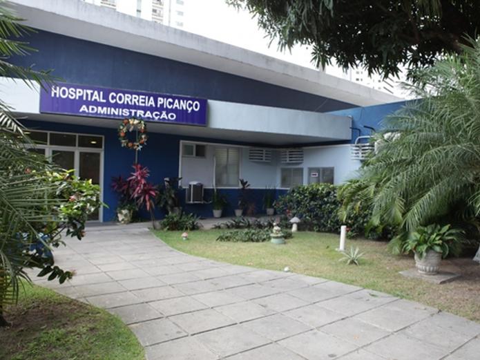 Hospital Correia Picanço, Zona Norte do Recife — Foto: Divulgação/SES