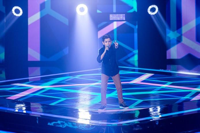 Artur Ortega é participante do 'The Voice Kids' — Foto: Artur Meninea/Gshow