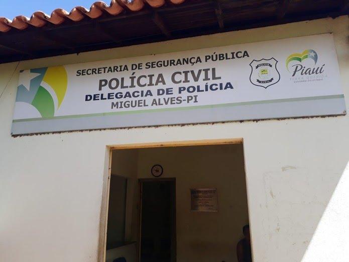 Caso é investigado pela Delegacia de Miguel Alves, no Piauí. (Foto: Divulgação/PC)