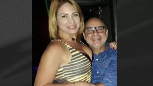 Márcia Aguiar e Fabrício Queiroz — Foto: Reprodução/GloboNews