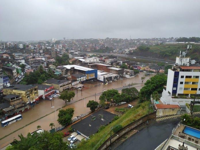 Bairro da Sete Portas, em Salvador — Foto: Ubiratan Passos/TV Bahia