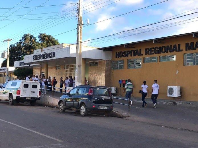 Hospital de Bom Jesus — Foto: Neyara Pinheiro