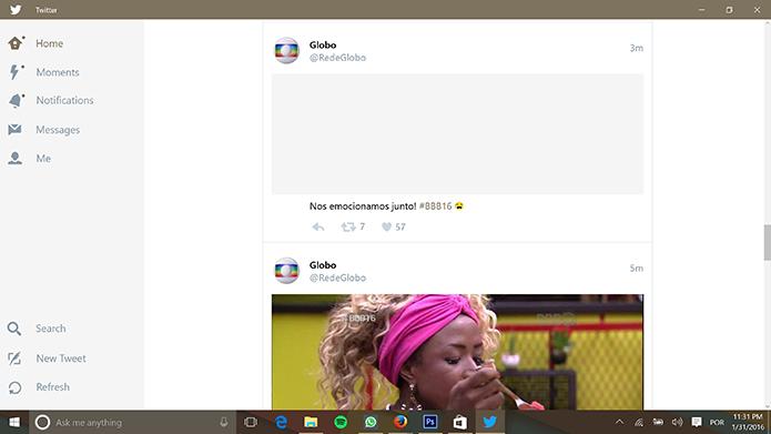 Programas para Windows 10 Twitter
