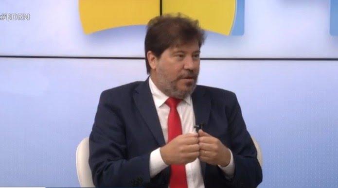 Aldemir Freire, secretário de Planejamento do Rio Grande do Norte — Foto: Reprodução/Inter TV Cabugi