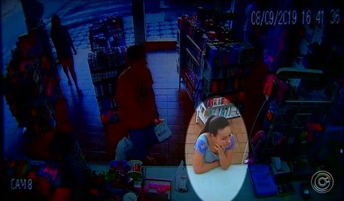 Jovem de Alumínio (SP) desapareceu depois de sair de farmácia — Foto: Reprodução/TV TEM