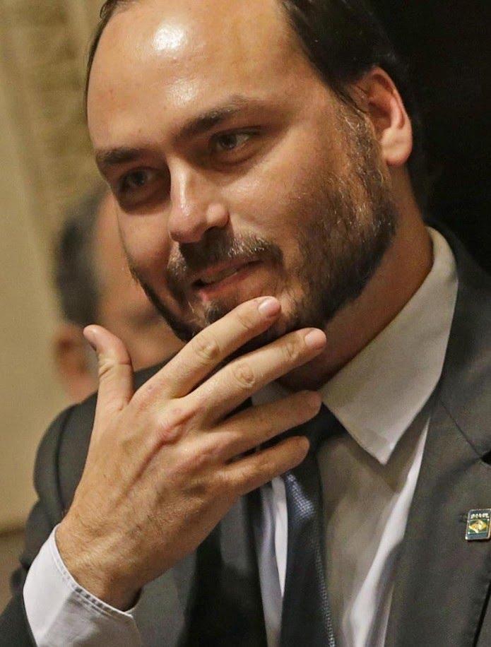 Carlos Bolsonaro: o filho 02 — Foto: Márcio Alves/Agência O Globo