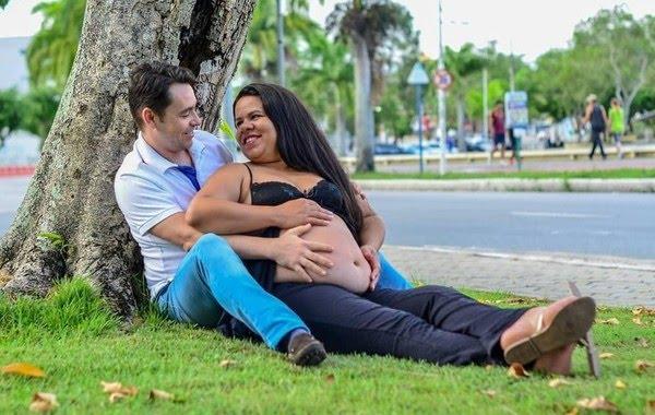 Ensaio fotográfico aconteceu 40 dias antes do acidente — Foto: Luciana Miranda/Arquivo pessoal