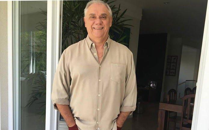 O jornalista Marcelo Rezende