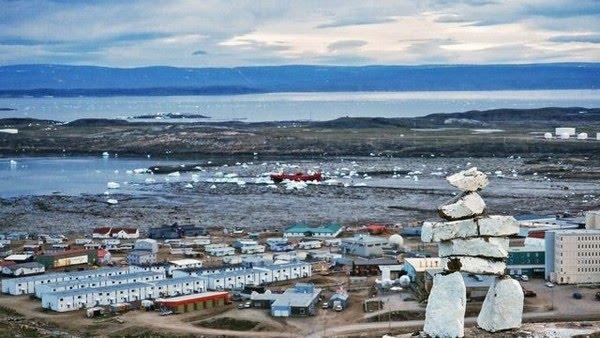 O isolamento natural de Nunavut é provavelmente parte da razão para a falta de casos — Foto: Getty Images via BBC