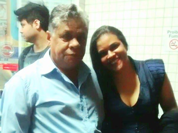 João e a filha Thais estão muito ansiosos para reencontrar a família de Rio Claro — Foto: Arquivo Pessoal