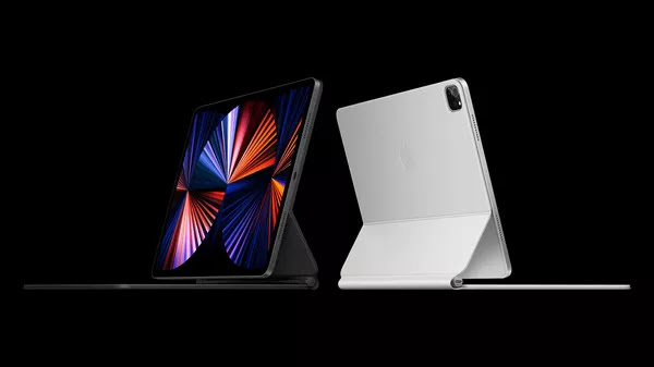 Novos iPad Pro são compatíveis com acessórios como teclados. — Foto: Divulgação/Apple