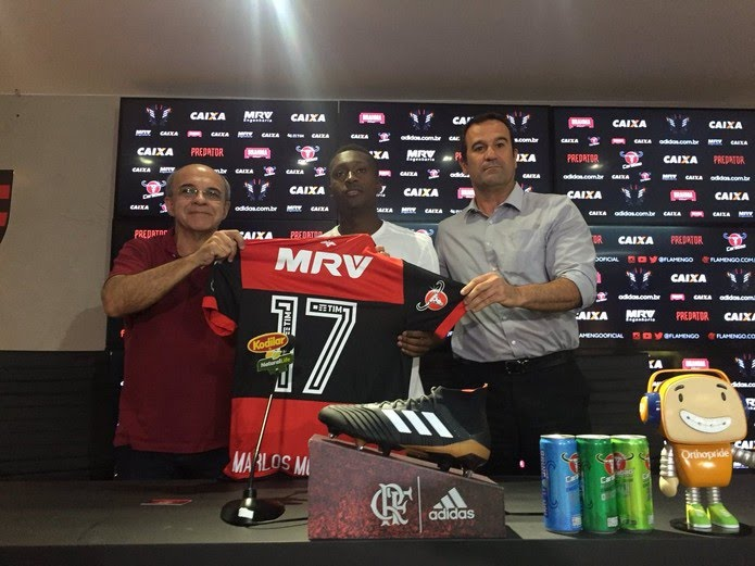 Marlos Moreno Camisa 17 Flamengo (Foto: Raphael Zarko / GloboEsporte.com)
