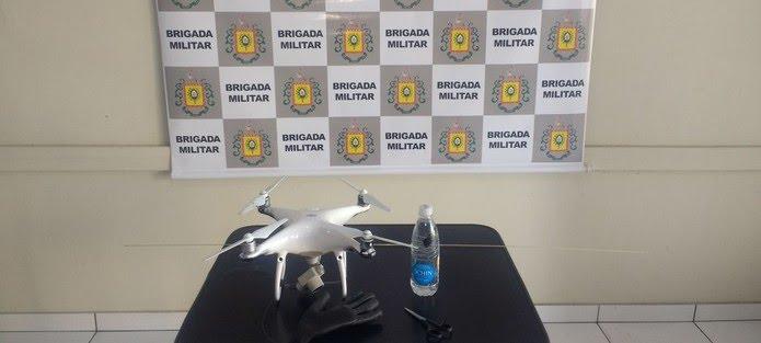 Na manhã de sexta-feira polícia também havia apreendido outro drone