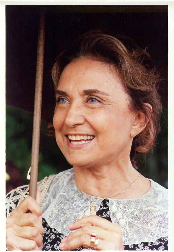 Eva Wilma em cena da novela 'O Rei do Gado', de 1996 — Foto: Acervo Grupo Globo