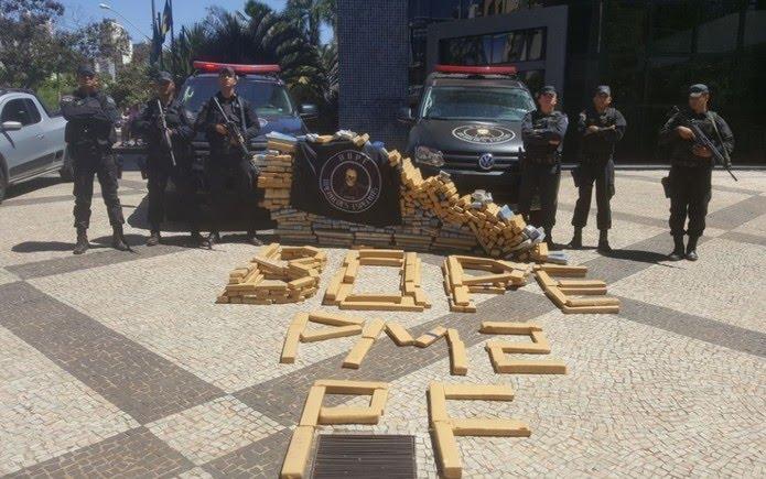 Droga foi apresentada na sede da PF, em Goiânia