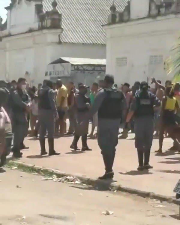 Tiroteio é registrado no bairro Liberdade em São Luís (MA) — Foto: Reprodução/Redes sociais