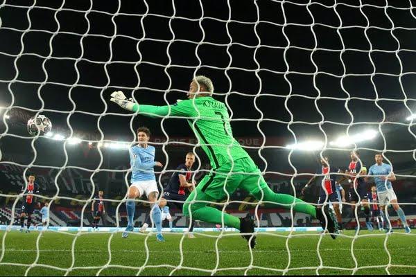 Keylor Navas PSG Manchester City — Foto: Getty Images