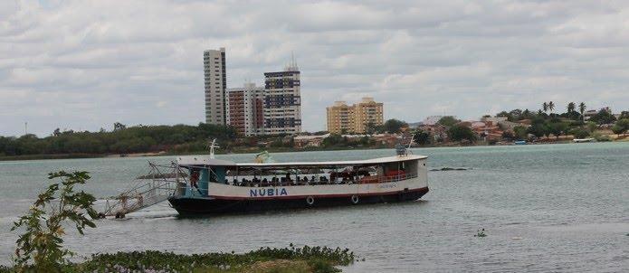 Barquinha no Rio São Francisco
