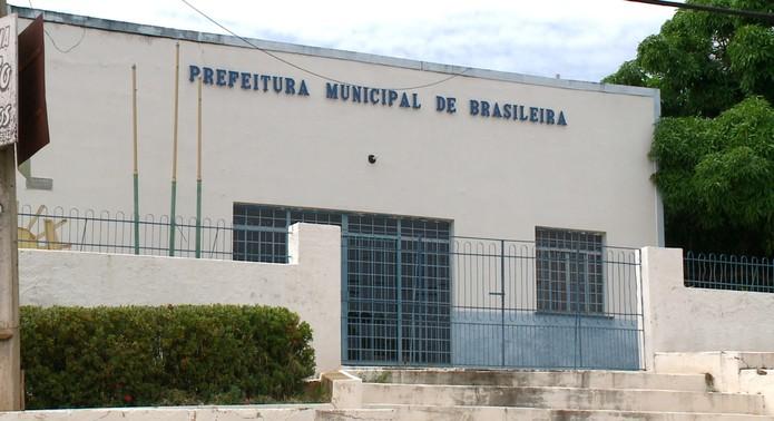 Prefeitura Municipal de Brasileira, no Piauí — Foto: TV Clube