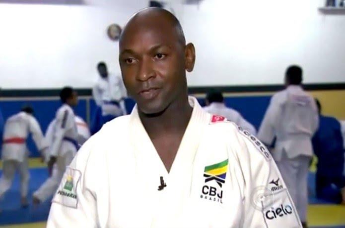 Mário Sabino, judoca, Bauru — Foto: Reprodução / TV TEM