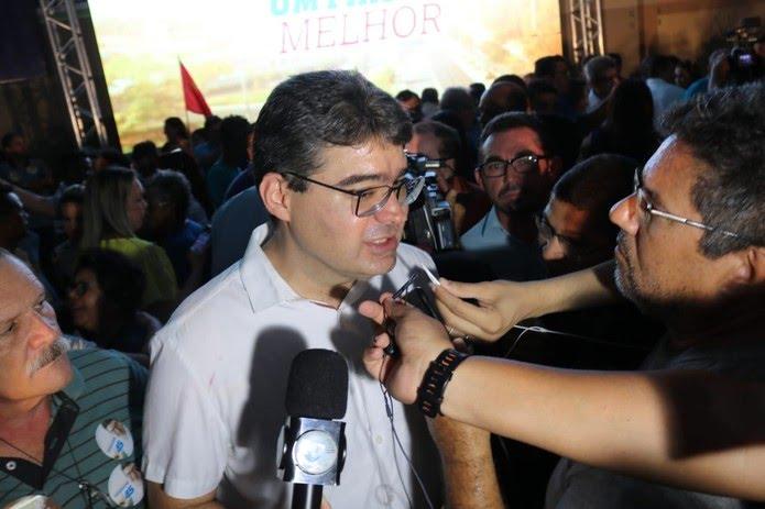Luciano Nunes, candidato do PSDB ao governo do estado do Piauí  (Foto: Lucas Marreiros/G1 PI)