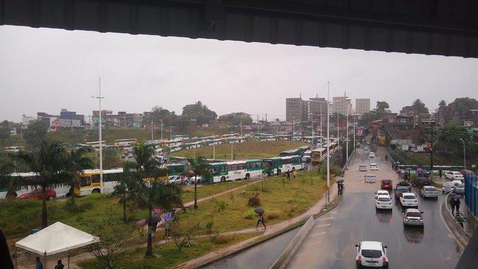Estação Pirajá, em Salvador — Foto: Joice Marques/Arquivo pessoal