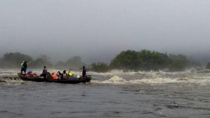 Para validar as informações obtidas pelo sensor remoto, a expedição Jari-Paru foi realizada entre os dias 14 e 24 de agosto — Foto: Divulgação/Jhonathan dos Santos