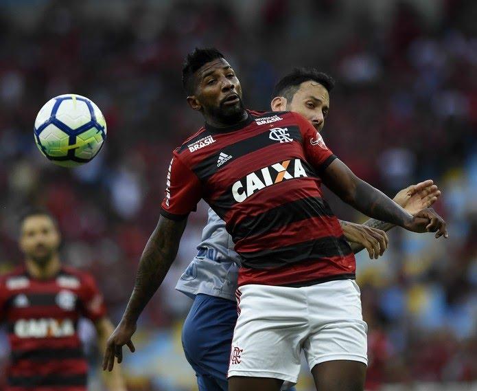 Rodinei tem sido alvo de críticas da torcida do Flamengo (Foto: André Durão/GloboEsporte.com)