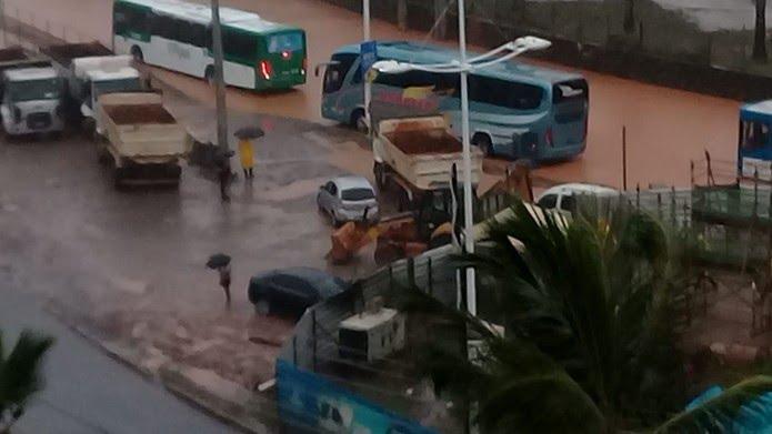Avenida ACM, em Salvador — Foto: Gileno Caldas/Arquivo pessoal