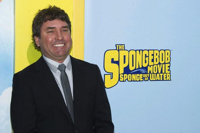 Stephen Hillenburg na estreia de 'Bob Esponja: Um herói fora d'água', em 2015 — Foto: Charles Sykes/Invision/AP
