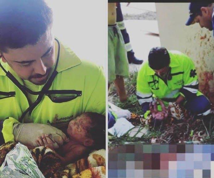 A equipe médica chama a menina de Giovana. A família de Ingrid, porém, diz que a bebê deve ser batizada como Jenifer (Foto: Divulgação/Arteris)
