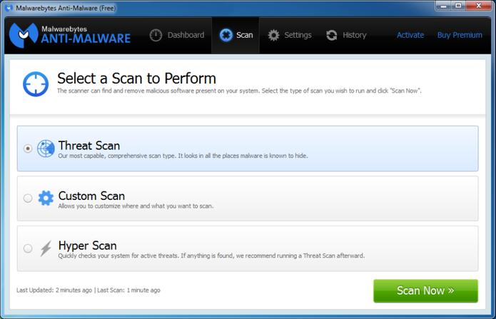 Programas para Windows 10 Malwarebytes
