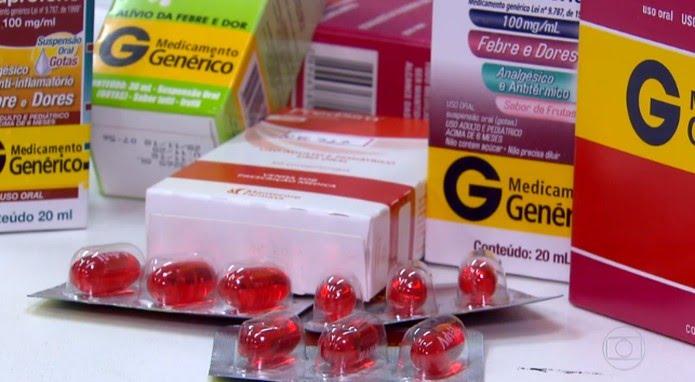 Ibuprofeno — Foto: Reprodução/TV Globo