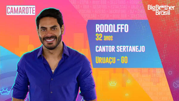 Rodolffo, BBB21 — Foto: Globo