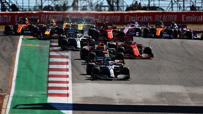 Largada do GP dos Estados Unidos, em Austin — Foto: Getty Images
