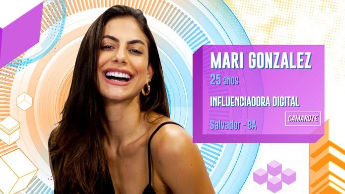 Mari Gonzalez é participante do BBB20 — Foto: Globo